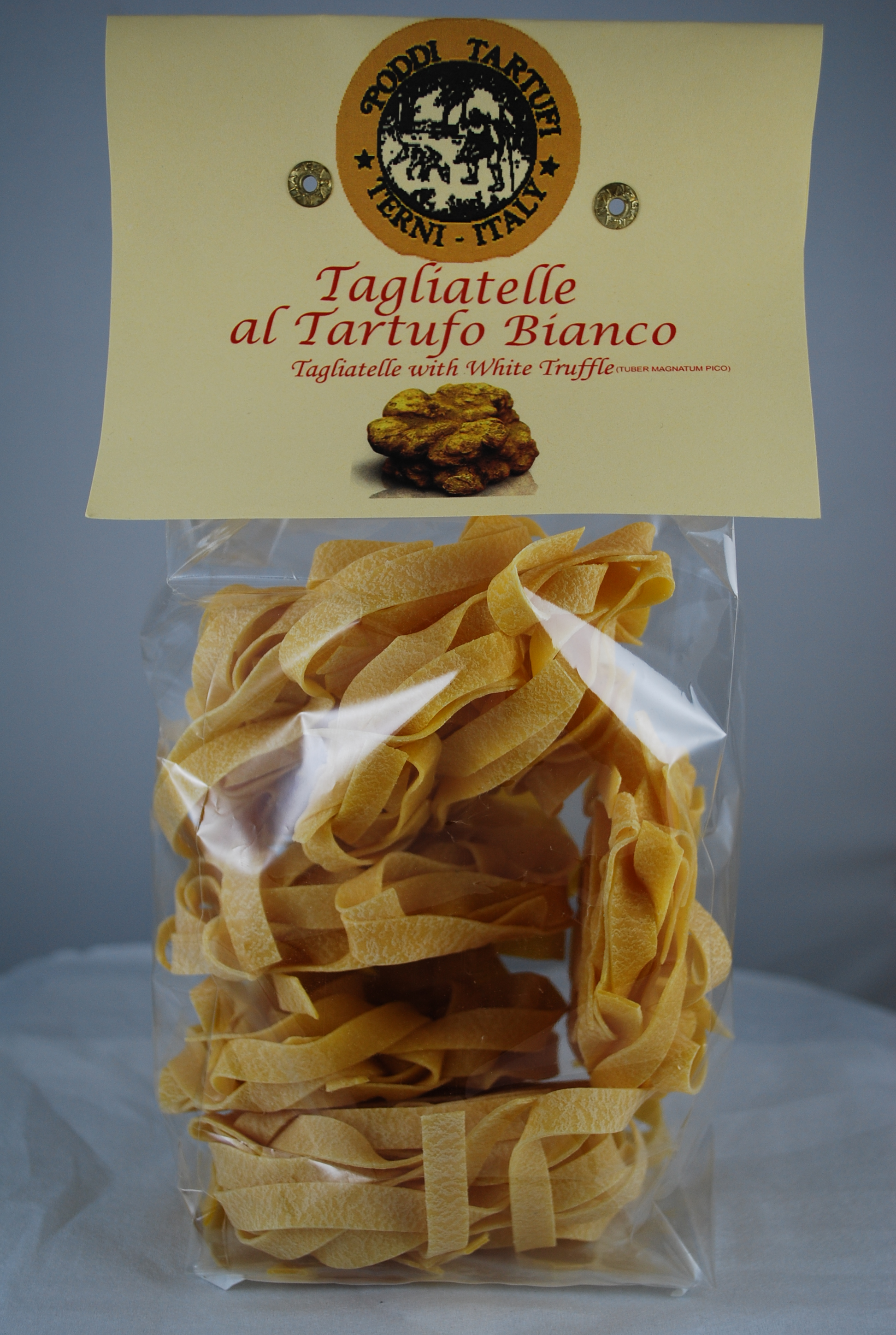 Tagliatelle with White Truffle from Poddi Tartufi